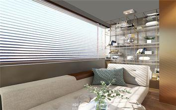 70平米一居室现代简约风格阳光房装修图片大全