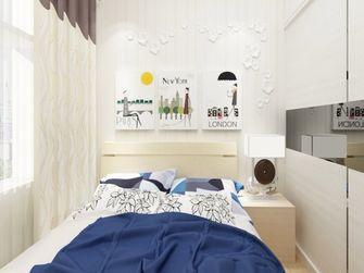 60平米一室两厅欧式风格卧室欣赏图
