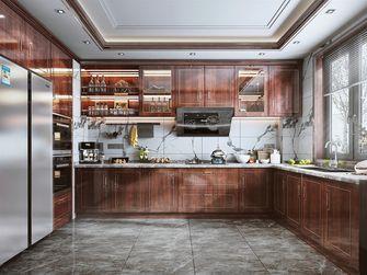 110平米三室两厅中式风格厨房设计图