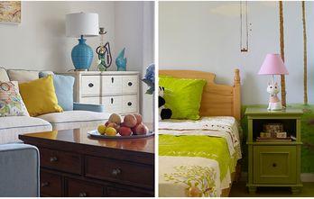 富裕型120平米三室两厅地中海风格阳光房装修效果图
