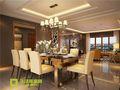 140平米四室四厅其他风格餐厅图片