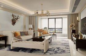 經濟型140平米四室兩廳美式風格臥室裝修案例