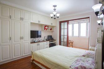 富裕型130平米三室两厅田园风格卧室装修效果图