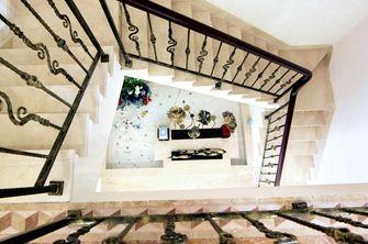 140平米别墅田园风格楼梯间图片大全