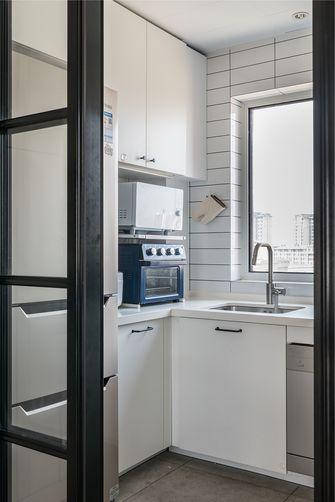 120平米三宜家风格厨房图片
