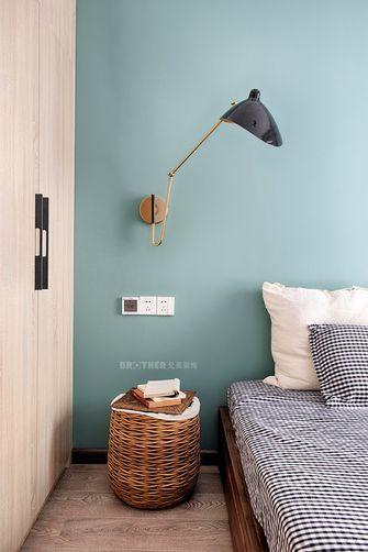 120平米三室两厅日式风格卧室欣赏图