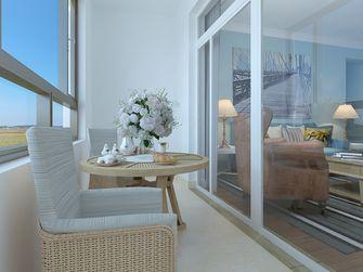 经济型110平米一室两厅地中海风格阳光房效果图