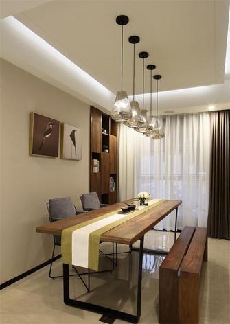 140平米三现代简约风格餐厅装修效果图