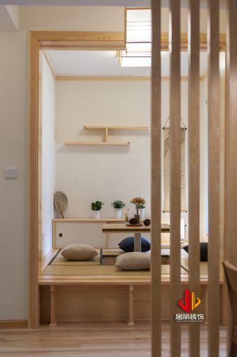 90平米三室两厅日式风格阳光房设计图