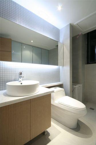 80平米三室两厅混搭风格卫生间装修图片大全