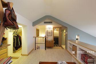 90平米复式日式风格阁楼装修图片大全