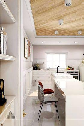 富裕型60平米混搭風格廚房圖片大全