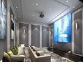 140平米一室五厅其他风格影音室欣赏图