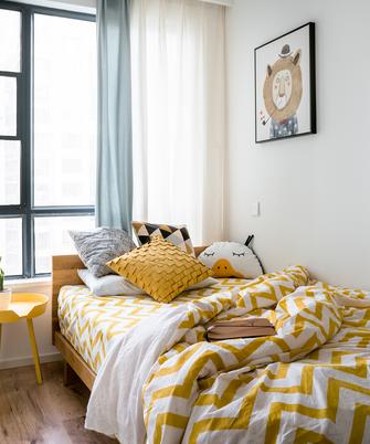 100平米三室两厅现代简约风格卧室家具图片