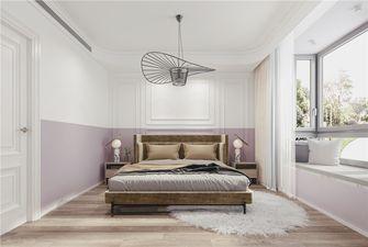 120平米三室一厅法式风格卧室装修效果图