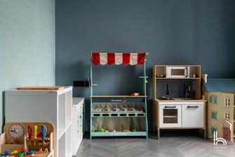 140平米四室一厅现代简约风格儿童房图