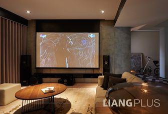 110平米复式北欧风格影音室图片