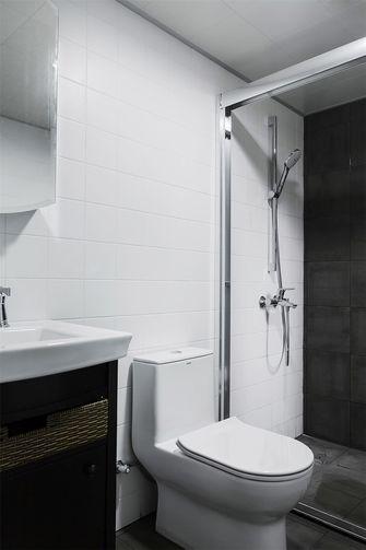 80平米三室两厅北欧风格卫生间图