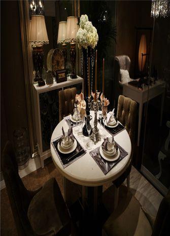 60平米一室一厅东南亚风格餐厅效果图