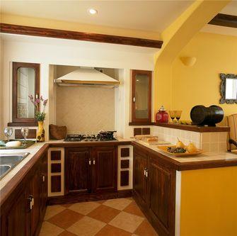 80平米三室两厅地中海风格厨房设计图