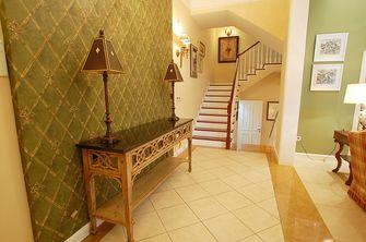20万以上110平米三室两厅地中海风格楼梯装修图片大全
