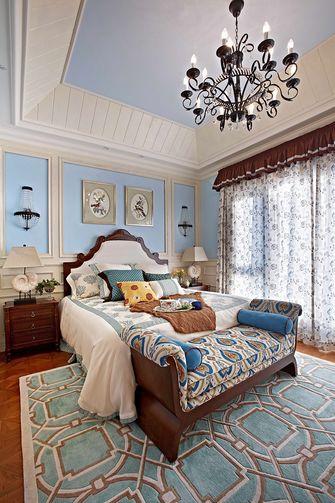 130平米复式地中海风格卧室效果图