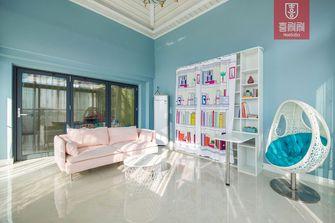 140平米四室一厅田园风格客厅效果图