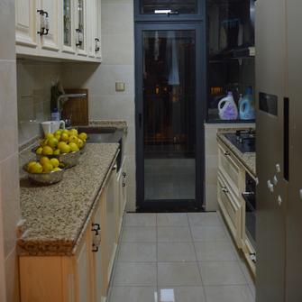 110平米日式风格厨房效果图