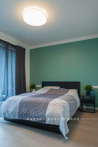 90平米四室两厅田园风格卧室设计图
