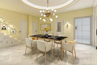 130平米一居室美式风格餐厅装修案例