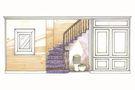 20万以上130平米四室两厅美式风格楼梯装修案例