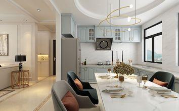 100平米欧式风格餐厅图