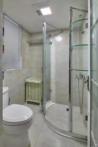 90平米三室一厅美式风格卫生间装修案例