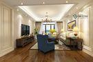 140平米复式田园风格客厅装修效果图