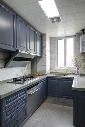 100平米三室兩廳現代簡約風格廚房設計圖