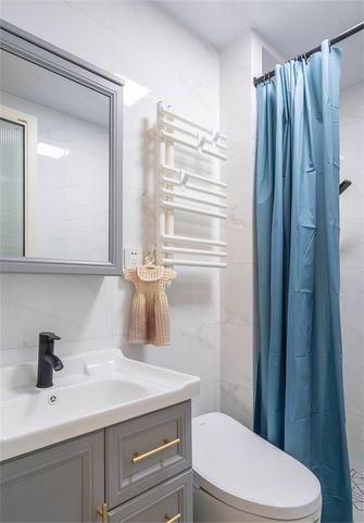 70平米公寓北欧风格卫生间装修案例