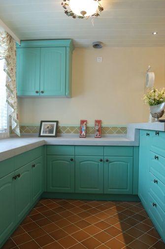 110平米四室一厅田园风格厨房装修案例