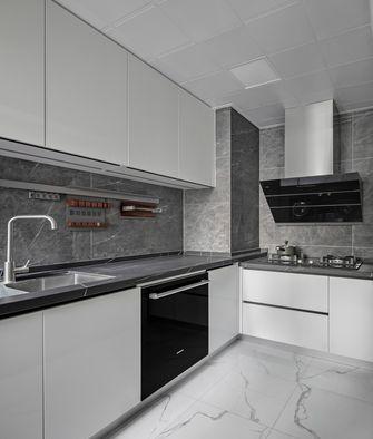130平米三室两厅北欧风格厨房图