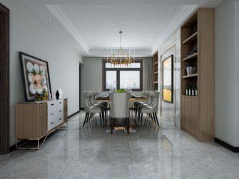 120平米四室两厅美式风格餐厅图片