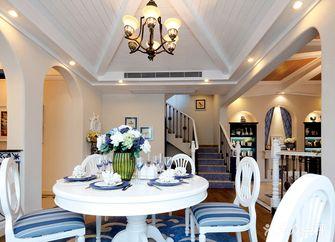 130平米复式地中海风格餐厅图片大全