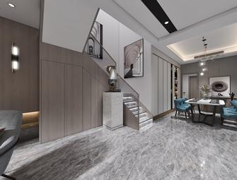 110平米三室两厅现代简约风格走廊装修案例
