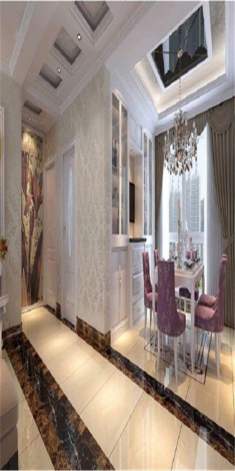 90平米欧式风格餐厅设计图