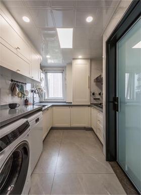 90平米三室两厅北欧风格厨房装修效果图