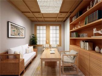 120平米日式风格书房装修案例