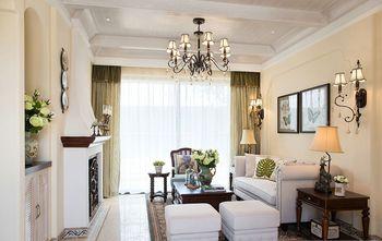 140平米三室两厅东南亚风格客厅装修案例