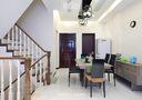 豪华型140平米别墅现代简约风格楼梯设计图