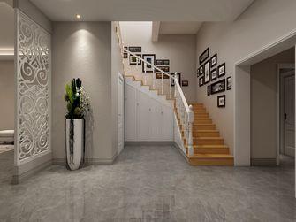 110平米别墅美式风格楼梯间图片