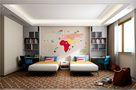 豪华型140平米别墅现代简约风格儿童房图片