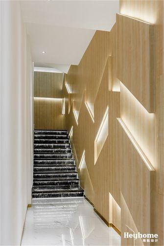 140平米现代简约风格楼梯间图