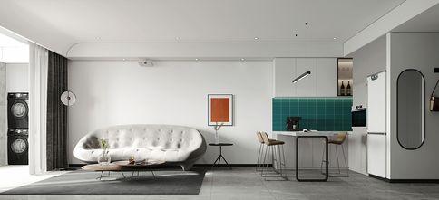 110平米公寓现代简约风格客厅图片大全